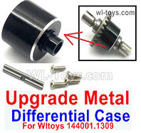Wltoys 124018 Upgrade Parts Metal Differential Case. For the 124018.1309.