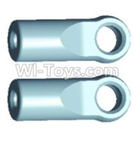 Wltoys 12402 Car Parts-0234 A303 Ball-Head sleeve(2pcs)-Short,Wltoys 12402 RC Car Spare Parts Replacement Accessories,1:12 Scale 4wd,2.4G 12402 rc racing car Parts,On Road Drift Racing Truck Car Parts