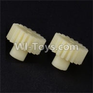 Wltoys 12402 Car Parts-0297 19T Motor gear(2pcs)-19 Teeth,Wltoys 12402 RC Car Spare Parts Replacement Accessories,1:12 Scale 4wd,2.4G 12402 rc racing car Parts,On Road Drift Racing Truck Car Parts