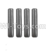 Wltoys 12402 Car Parts-K939-57 Wheel Axle fixed shaft(4pcs)-2X9.7mm,Wltoys 12402 RC Car Spare Parts Replacement Accessories,1:12 Scale 4wd,2.4G 12402 rc racing car Parts,On Road Drift Racing Truck Car Parts