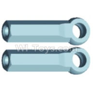 Wltoys 12403 Parts-A303 Ball-Head sleeve(2pcs)-Long,Wltoys 12403 RC Car Spare Parts Replacement Accessories,1:12 Scale 4wd,2.4G 12403 rc racing car Parts,On Road Drift Racing Truck Car Parts