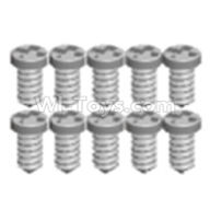 Wltoys 12403 Parts-Pan head screws(8PCS)-M1.6X6,Wltoys 12403 RC Car Spare Parts Replacement Accessories,1:12 Scale 4wd,2.4G 12403 rc racing car Parts,On Road Drift Racing Truck Car Parts
