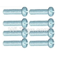 Wltoys 12403 Parts-Pan head screws(8PCS)-M2.6X10,Wltoys 12403 RC Car Spare Parts Replacement Accessories,1:12 Scale 4wd,2.4G 12403 rc racing car Parts,On Road Drift Racing Truck Car Parts