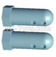 Wltoys 12404 Front Column for the Car canopy(2pcs)