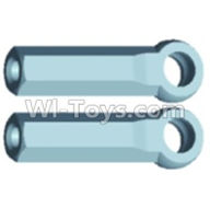 Wltoys 12404 Parts-A303 Ball-Head sleeve(2pcs)-Long,Wltoys 12404 RC Car Spare Parts Replacement Accessories,1:12 Scale 4wd,2.4G 12404 rc racing car Parts,On Road Drift Racing Truck Car Parts