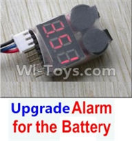 Wltoys 12404 Parts-Upgrade Alarm for the Battery,Can test whether your battery has enouth power,Wltoys 12404 RC Car Spare Parts Replacement Accessories,1:12 Scale 4wd,2.4G 12404 rc racing car Parts,On Road Drift Racing Truck Car Parts