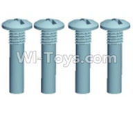 Wltoys 12404 Parts-Pan head screws(4PCS)-M3X25,Wltoys 12404 RC Car Spare Parts Replacement Accessories,1:12 Scale 4wd,2.4G 12404 rc racing car Parts,On Road Drift Racing Truck Car Parts