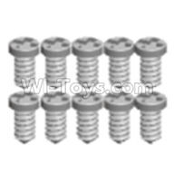 Wltoys 12404 Pan head screws(8PCS)-M1.6X6