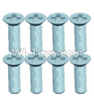 Wltoys 12404 Countersunk head screws(8PCS)-M3X10
