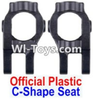 Wltoys 12423 Car Spare Parts-0006-01 C-Shape Seat(2pcs)-Black,Wltoys 12423 RC Car Spare Parts Replacement Accessories,1:12 Scale 4wd,2.4G 12423 RC racing car Parts,On Road Drift Racing Truck Car Parts