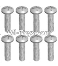 Wltoys 12423 Car Spare Parts-00109 Cross recessed pan head screws(8PCS)-M2X8 PM,Wltoys 12423 RC Car Spare Parts Replacement Accessories,1:12 Scale 4wd,2.4G 12423 RC racing car Parts,On Road Drift Racing Truck Car Parts