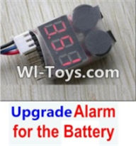 Wltoys 12423 Car Spare Parts-00123-04 Upgrade Alarm for the Battery,Can test whether your battery has enouth power,Wltoys 12423 RC Car Spare Parts Replacement Accessories,1:12 Scale 4wd,2.4G 12423 RC racing car Parts,On Road Drift Racing Truck Car Parts
