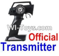 Wltoys 12423 Car Spare Parts-00126-01-02 Official Transmitter,Wltoys 12423 RC Car Spare Parts Replacement Accessories,1:12 Scale 4wd,2.4G 12423 RC racing car Parts,On Road Drift Racing Truck Car Parts