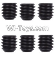 Wltoys 12423 Car Spare Parts-00128 M4 Machine screws(M4X4)-5pcs,Wltoys 12423 RC Car Spare Parts Replacement Accessories,1:12 Scale 4wd,2.4G 12423 RC racing car Parts,On Road Drift Racing Truck Car Parts