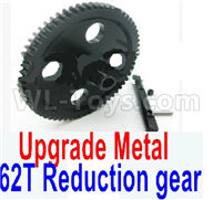 Wltoys 12428 Upgrade Parts Metal 62T Reduction gear, 12428-0015.