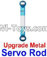 Wltoys 12423 Car Spare Parts-0018-02 Upgrade Metal Servo Rod(1pcs),Wltoys 12423 RC Car Spare Parts Replacement Accessories,1:12 Scale 4wd,2.4G 12423 RC racing car Parts,On Road Drift Racing Truck Car Parts