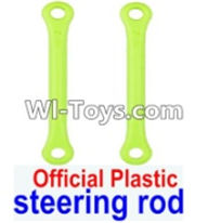 Wltoys 12423 Car Spare Parts-0019-01 Steering rod(2pcs),Wltoys 12423 RC Car Spare Parts Replacement Accessories,1:12 Scale 4wd,2.4G 12423 RC racing car Parts,On Road Drift Racing Truck Car Parts