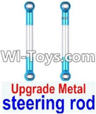 Wltoys 12423 Car Spare Parts-0019-02 Upgrade Metal steering rod(2pcs),Wltoys 12423 RC Car Spare Parts Replacement Accessories,1:12 Scale 4wd,2.4G 12423 RC racing car Parts,On Road Drift Racing Truck Car Parts