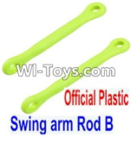 Wltoys 12423 Car Spare Parts-0021-01 Swing arm Rod B(2pcs),Wltoys 12423 RC Car Spare Parts Replacement Accessories,1:12 Scale 4wd,2.4G 12423 RC racing car Parts,On Road Drift Racing Truck Car Parts