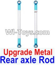 Wltoys 12423 Car Spare Parts-0022-02 Upgrade Metal Rear axle Rod(2pcs),Wltoys 12423 RC Car Spare Parts Replacement Accessories,1:12 Scale 4wd,2.4G 12423 RC racing car Parts,On Road Drift Racing Truck Car Parts