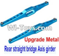 Wltoys 12423 Car Spare Parts-0023-02 Upgrade Metal Rear straight bridge Axis girder for the Rear Swing Arm(2pcs) ,Wltoys 12423 RC Car Spare Parts Replacement Accessories,1:12 Scale 4wd,2.4G 12423 RC racing car Parts,On Road Drift Racing Truck Car Parts