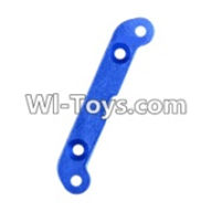 Wltoys 12423 Car Spare Parts-0063 Strengthening piece A for the Swing Arm(47X9.5X3mm),Wltoys 12423 RC Car Spare Parts Replacement Accessories,1:12 Scale 4wd,2.4G 12423 RC racing car Parts,On Road Drift Racing Truck Car Parts