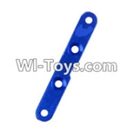 Wltoys 12423 Car Spare Parts-0064 Strengthening piece B for the Swing Arm(47X7X3mm),Wltoys 12423 RC Car Spare Parts Replacement Accessories,1:12 Scale 4wd,2.4G 12423 RC racing car Parts,On Road Drift Racing Truck Car Parts