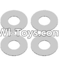 Wltoys 12423 Car Spare Parts-0066 Flat washers(4PCS)-12X5.2X0.2mm,Wltoys 12423 RC Car Spare Parts Replacement Accessories,1:12 Scale 4wd,2.4G 12423 RC racing car Parts,On Road Drift Racing Truck Car Parts