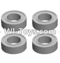 Wltoys 12423 Car Spare Parts-0092 Bearing(4pcs-5X9X3MM),Wltoys 12423 RC Car Spare Parts Replacement Accessories,1:12 Scale 4wd,2.4G 12423 RC racing car Parts,On Road Drift Racing Truck Car Parts