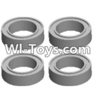 Wltoys 12423 Car Spare Parts-0093 Bearing(4pcs-8X12X3.5MM),Wltoys 12423 RC Car Spare Parts Replacement Accessories,1:12 Scale 4wd,2.4G 12423 RC racing car Parts,On Road Drift Racing Truck Car Parts