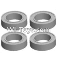 Wltoys 12423 Car Spare Parts-0094 Bearing(4pcs-7X11X3MM),Wltoys 12423 RC Car Spare Parts Replacement Accessories,1:12 Scale 4wd,2.4G 12423 RC racing car Parts,On Road Drift Racing Truck Car Parts