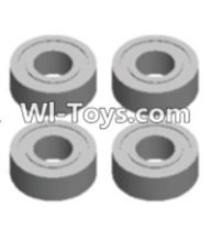 Wltoys 12423 Car Spare Parts-0095 Bearing(4pcs-5X11X4MM),Wltoys 12423 RC Car Spare Parts Replacement Accessories,1:12 Scale 4wd,2.4G 12423 RC racing car Parts,On Road Drift Racing Truck Car Parts