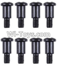 Wltoys 12423 Car Spare Parts-0097 Cross step lower half tooth screw(8PCS)-M3X10,Wltoys 12423 RC Car Spare Parts Replacement Accessories,1:12 Scale 4wd,2.4G 12423 RC racing car Parts,On Road Drift Racing Truck Car Parts