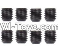 Wltoys 12423 Car Spare Parts-0098 M3 Machine Screws(8PCS)-M3X3,Wltoys 12423 RC Car Spare Parts Replacement Accessories,1:12 Scale 4wd,2.4G 12423 RC racing car Parts,On Road Drift Racing Truck Car Parts
