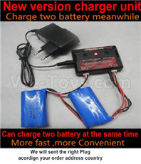 Wltoys 12427 Upgrade version charger and Balance charger-12427-00124
