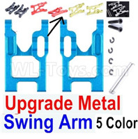 Wltoys 12427 Upgrade Metal Swing Arm Parts(2pcs)-12427-0004-Left and Right
