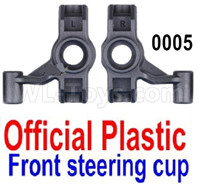 Wltoys 12427 Parts-Steering cup(2pcs)-12427-0005-Official Plastic Left and Right