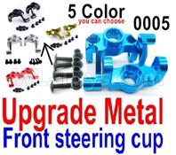 Wltoys 12427 Parts-Upgade Metal Front steering cup-12427-0005,Left and Right Universal joint(2pcs)