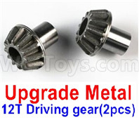 Wltoys 12427 Parts-Upgrade Metal 12T Driving gear(2pcs)-12427-0012