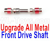 Wltoys 12427 Parts-Upgrade Metal Front Drive shaft(1pcs)