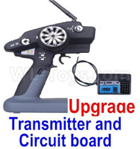 Wltoys 12427 Parts-Upgrade P33 Transmitter and Receiver Board-12427-0126