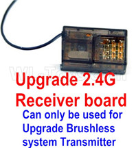 Wltoys 12427 Parts-Upgrade 2.4G Receiver board-Can only be used together with the Upgrade Brushless Transmitter