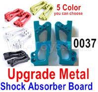 Wltoys 12427 Parts-Upgrade Metal shockproof board-12427-0037,Shock Absorbers board(2pcs)