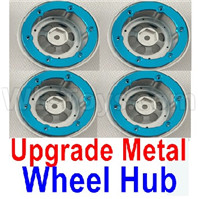 Wltoys 12427 Parts-Upgrade Metal Wheel hub(4pcs)-Not include the Tire lether