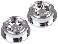 Wltoys 12427 Parts-wheel Hub,12427-0045-(2pcs-Not include the Tire leather)