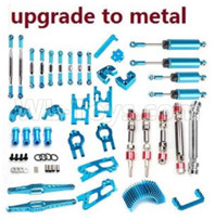 Wltoys 12428 Parts-Upgrade All Metal parts assembly,Crash set-01