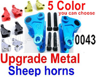 Wltoys 12428 Upgrade Parts Metal sheep horns,2pcs, 12428-0043.