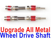 Wltoys 12428 Upgrade Parts Metal Wheel drive Shaft Total 2pcs.,Can be used for12428  12429 12428-B 12428-C 12428-A Truck.