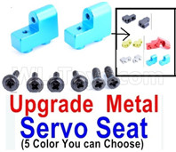 Wltoys 12428 Parts Upgrae Metal Servo Seat, It Can be used for the 12428 12429 12428-B 12428-C 12428-A Truck.