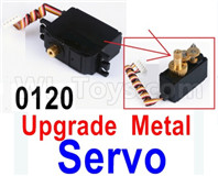 Wltoys 12428 Upgrade Parts Metal Servo. 12428-0120, Can be used for 12428 12429 12428-B 12428-C 12428-A RC Truck